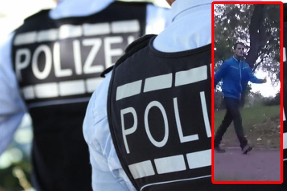 Die Polizei sucht diesen brutalen Räuber