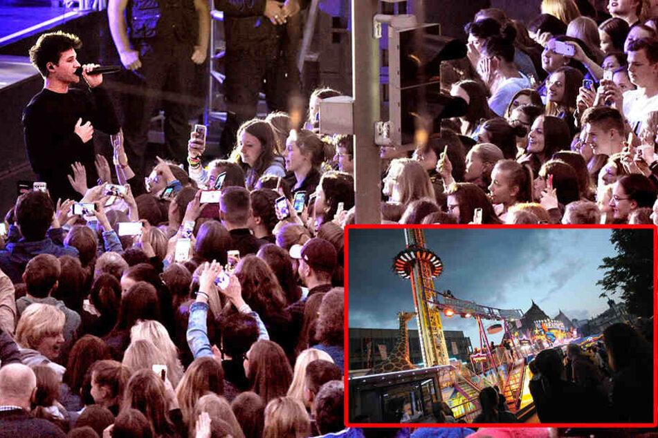Auftakt nach Maß: Wincent Weiß lockt 8500 Fans zum Leineweber-Markt