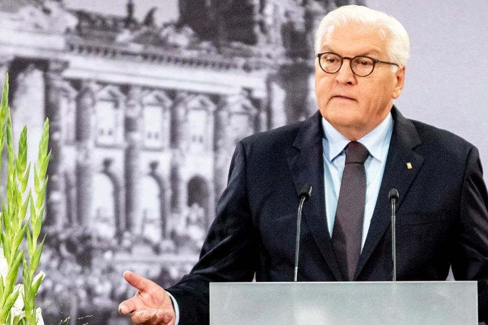 Frank-Walter Steinmeier (Archivbild) wandte sich auch gegen technokratische Kritik an der repräsentativen Demokratie.