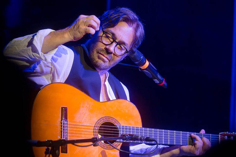 Bewies einmal mehr bei den Jazztagen in Dresden seine Klasse an der Gitarre:  Al Di Meola.