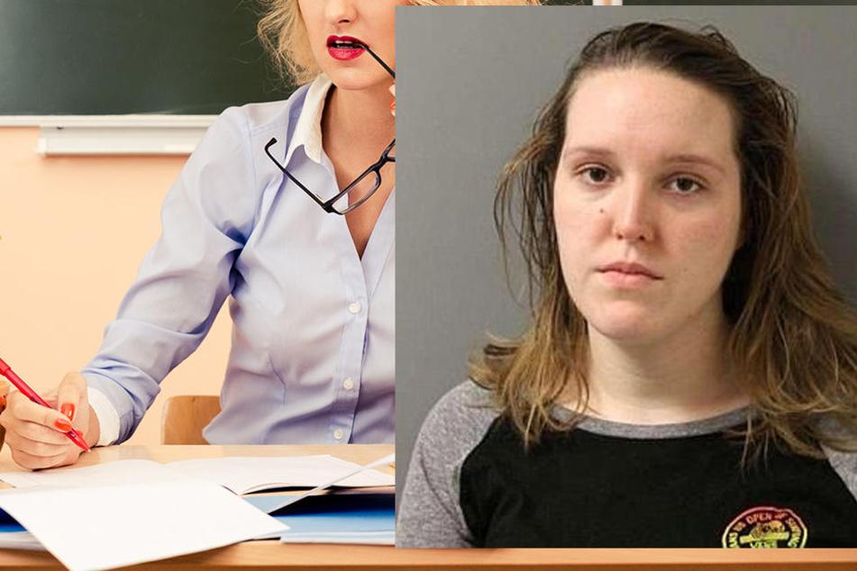 Michelle Schiffer wurde verurteilt, weil sie Sex mit einem ihrer Schüler hatte.