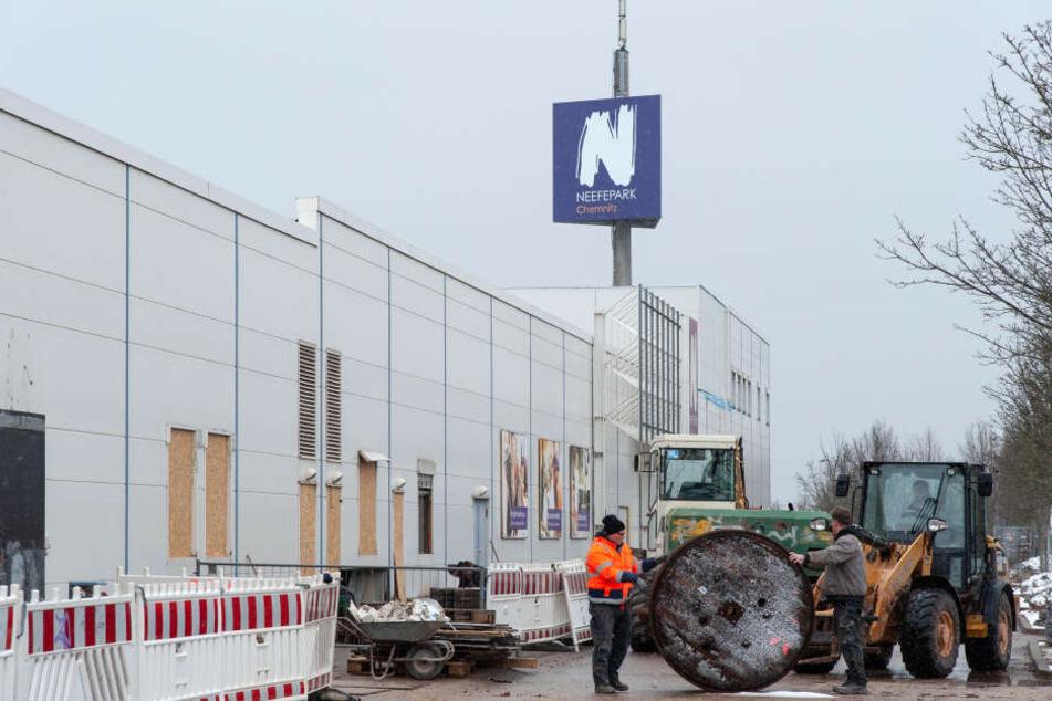 Chemnitz: Nicht mehr lange, dann eröffnet der Globus-Markt im Neefepark