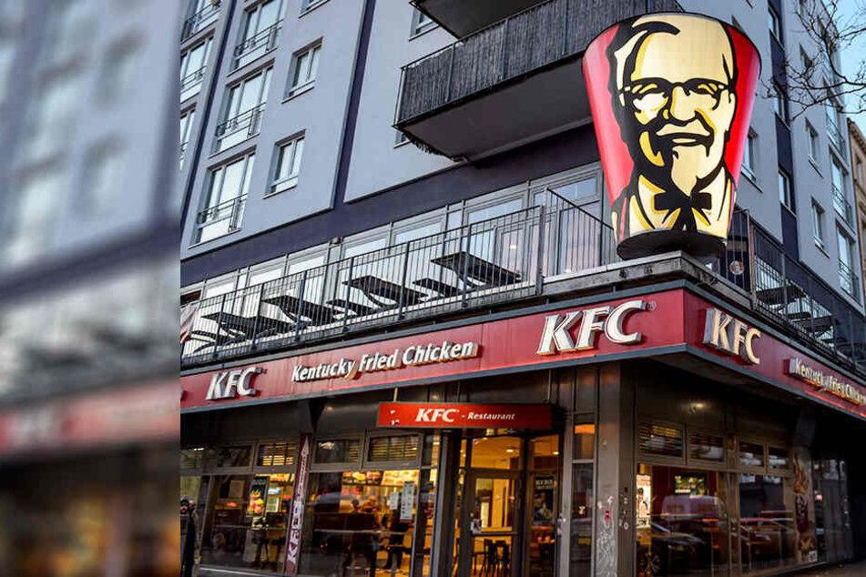 Polizeieinsatz bei Fast-Food-Kette: KFC-Filiale musste geschlossen werden