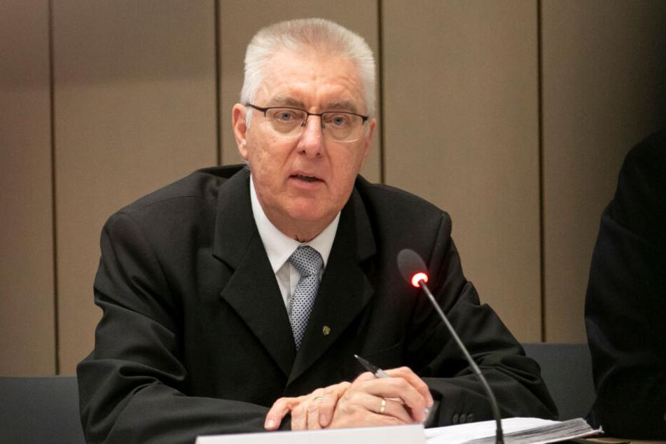 Kripo-Chef Volker Lange.