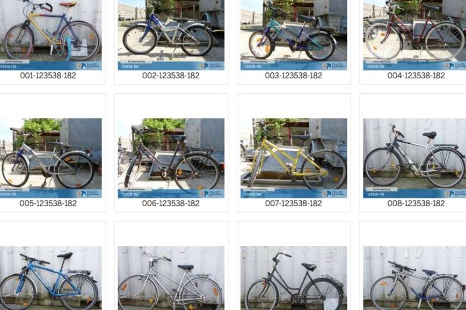 Gestohlene Fahrräder: Hier können Kölner ihre Räder wiederfinden