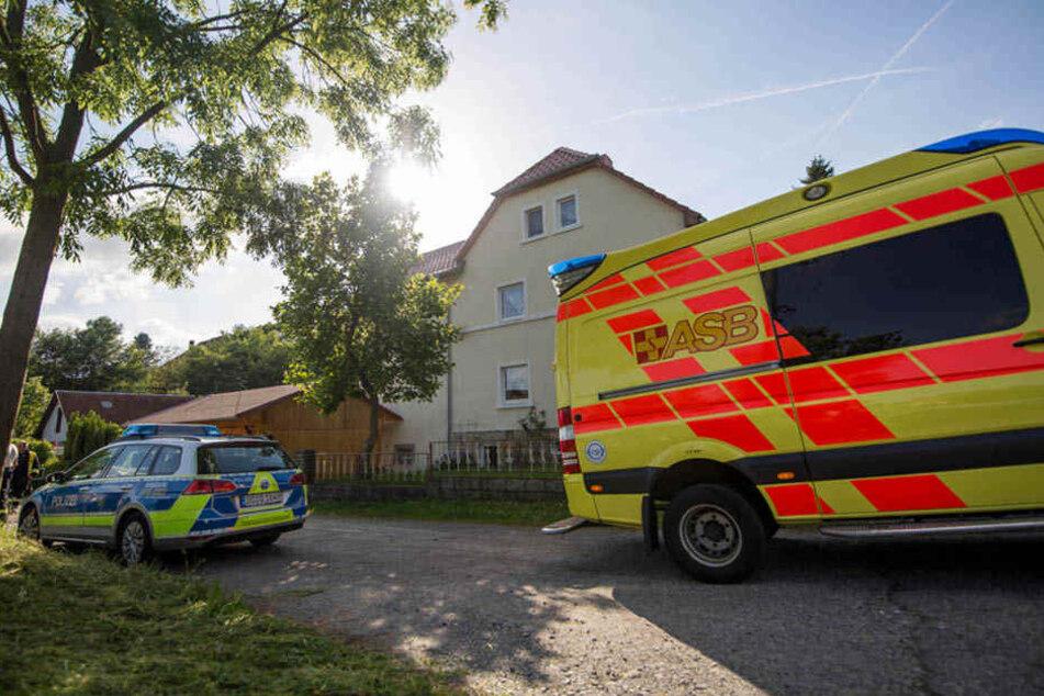 Die Polizei wurde auf ein verlassenes Gelände auf der Bischofswerdaer Straße in Ottendorf gerufen.