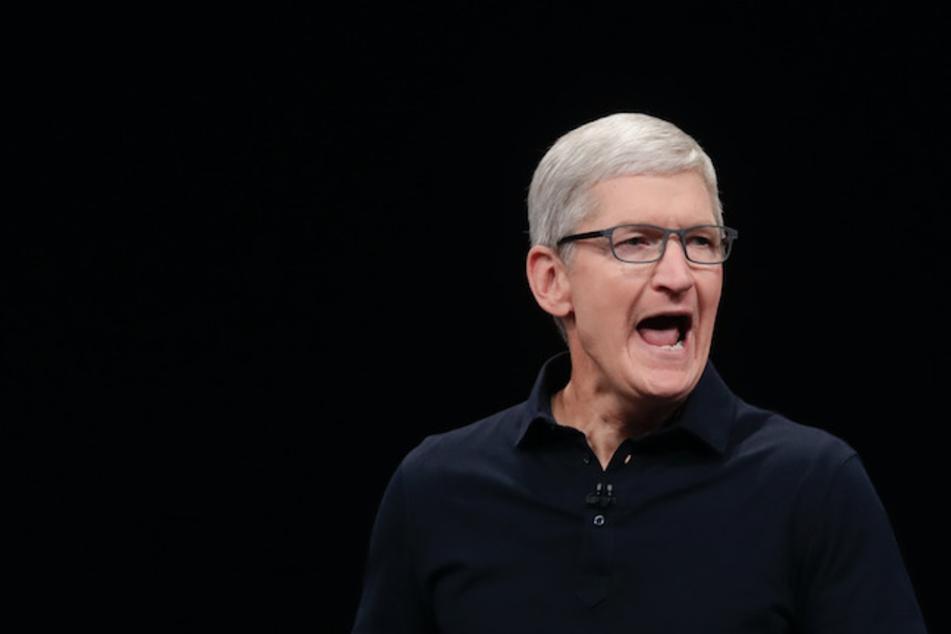 Tim Cook, Chef von Apple, freute sich über das neueste Konzernergebnis.