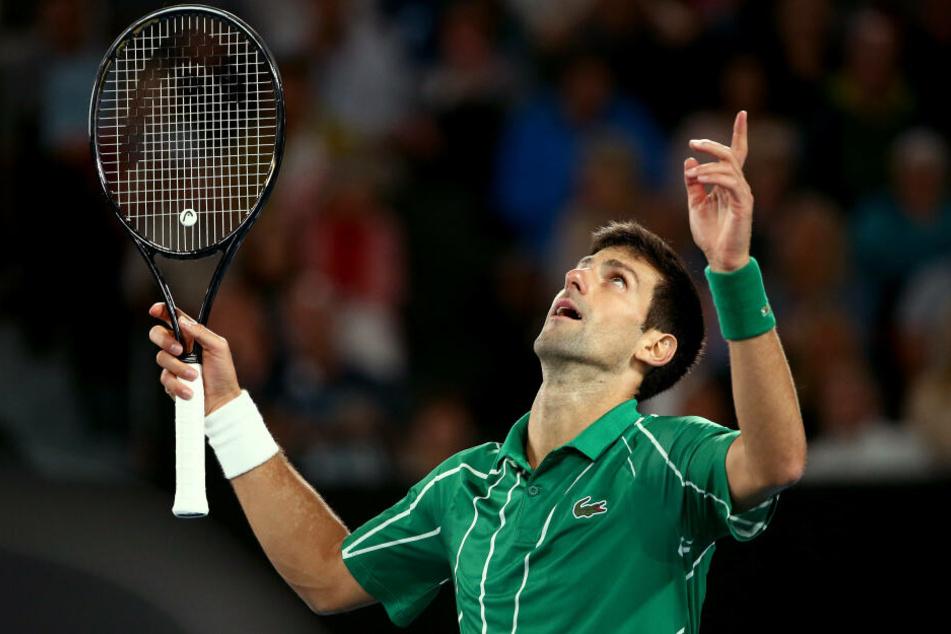 Novak Djokovic wird ab Montag wieder die Nummer eins der Welt sein.