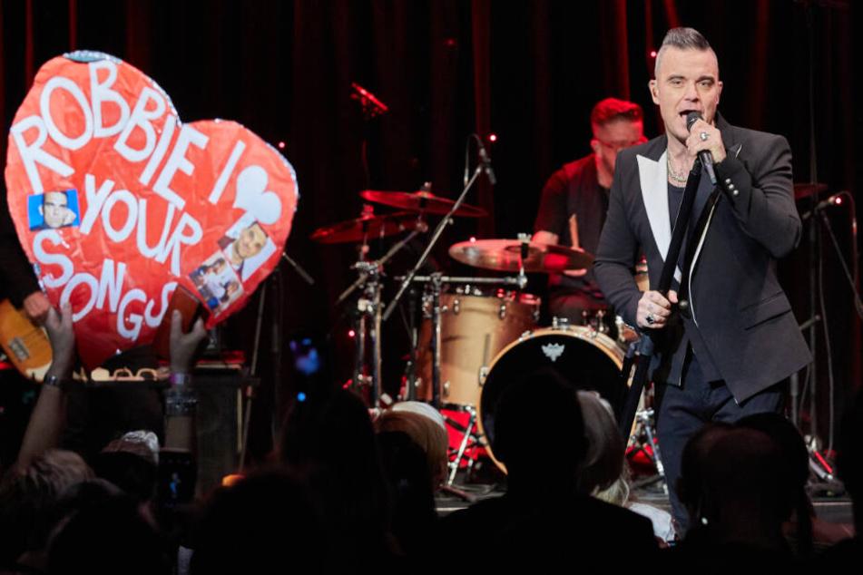 So war das Geheimkonzert von Robbie Williams in Hamburg