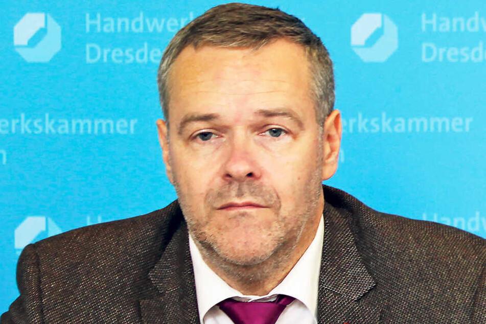 DSC-Vorstandschef Jörg Dittrich.