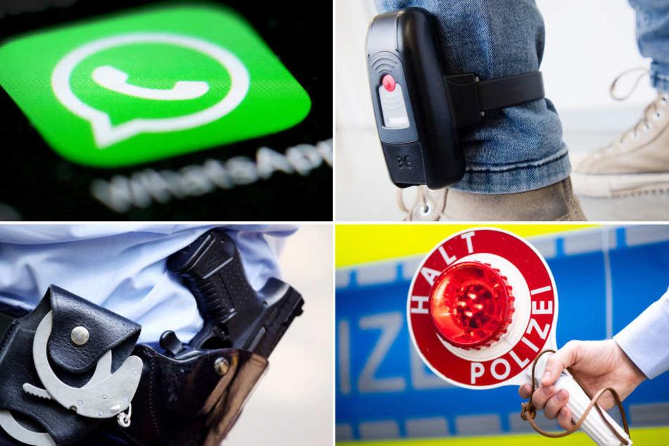 Das geplante Polizeigesetz erweitert die Befugnisse der Polizei schon bei drohender Gefahr (Symbolbild).