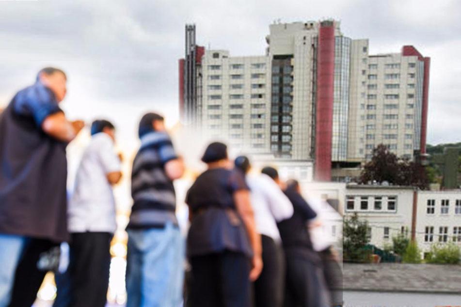 100 Besucher wollen auf die Intensivstation: Klinikpersonal informiert Polizei