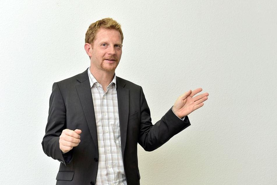 Treibt die Projekte voran: Baubürgermeister Michael Stötzer (43, Parteilos)