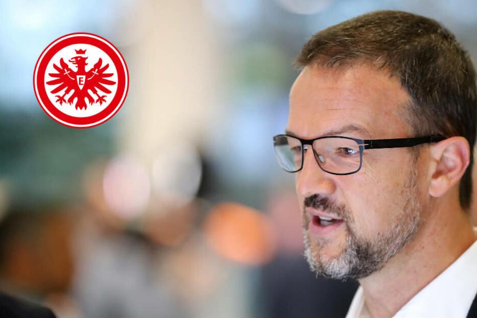 Keine Panik bei der Eintracht: Fredi Bobic hält nichts von Trainer-Diskussion