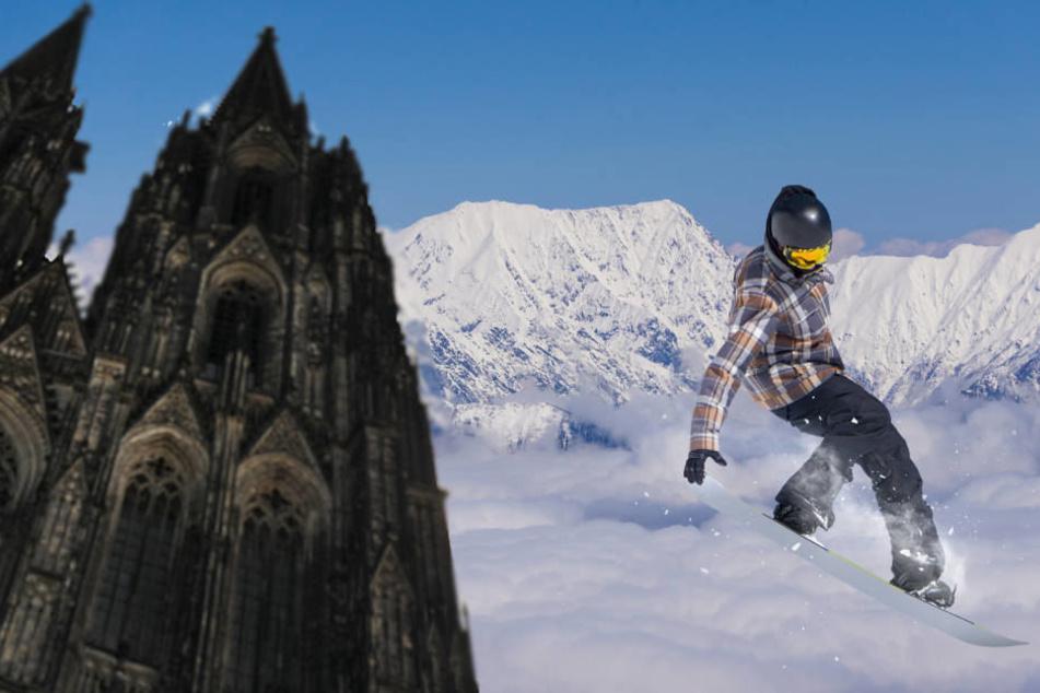 Konzentrierte Wintersport-Bespaßung: vom Dom auf die Piste und zurück.