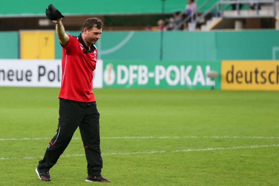 Einen großen Anteil am Erfolg hat auch SCP-Trainer Steffen Baumgart.