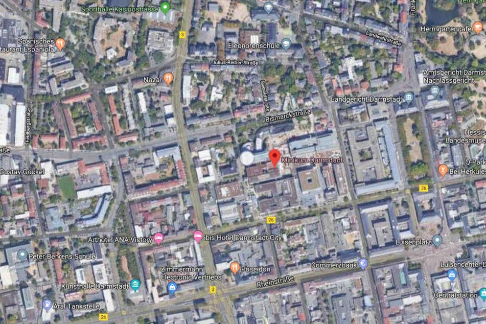 Zuletzt wurde der Vermisste am Freitagabend im Klinikum Darmstadt gesehen.