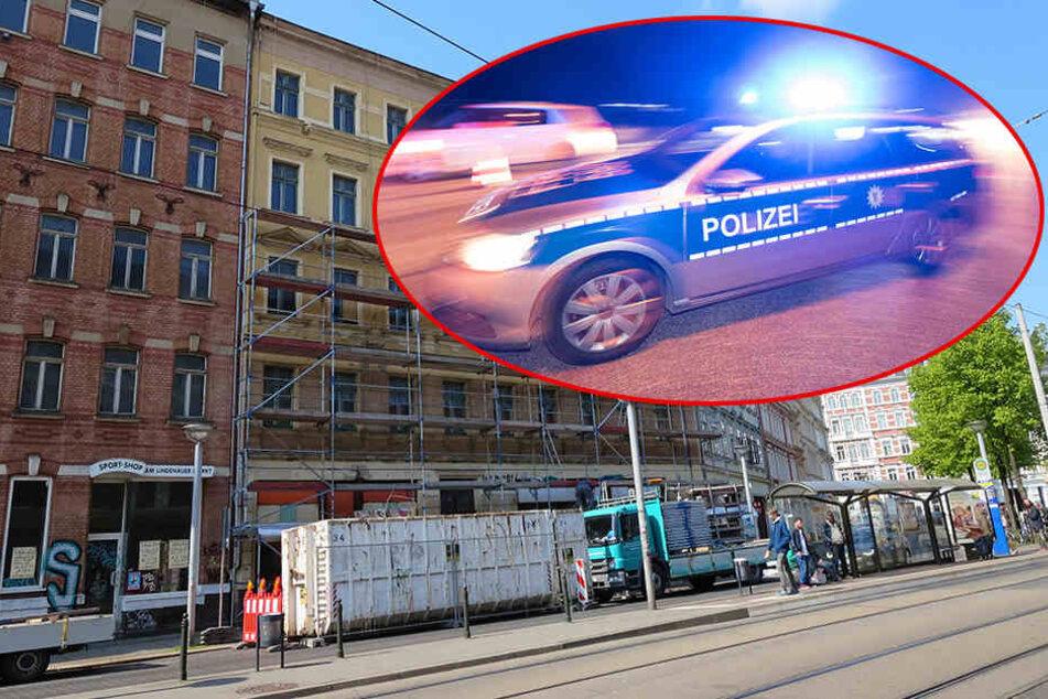Psychisch Verwirrter boxt sich durch Lindenau und bedroht Polizisten