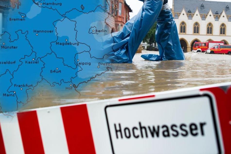 Tauwetter und Dauerregen: Droht in Deutschland jetzt die große Flut?