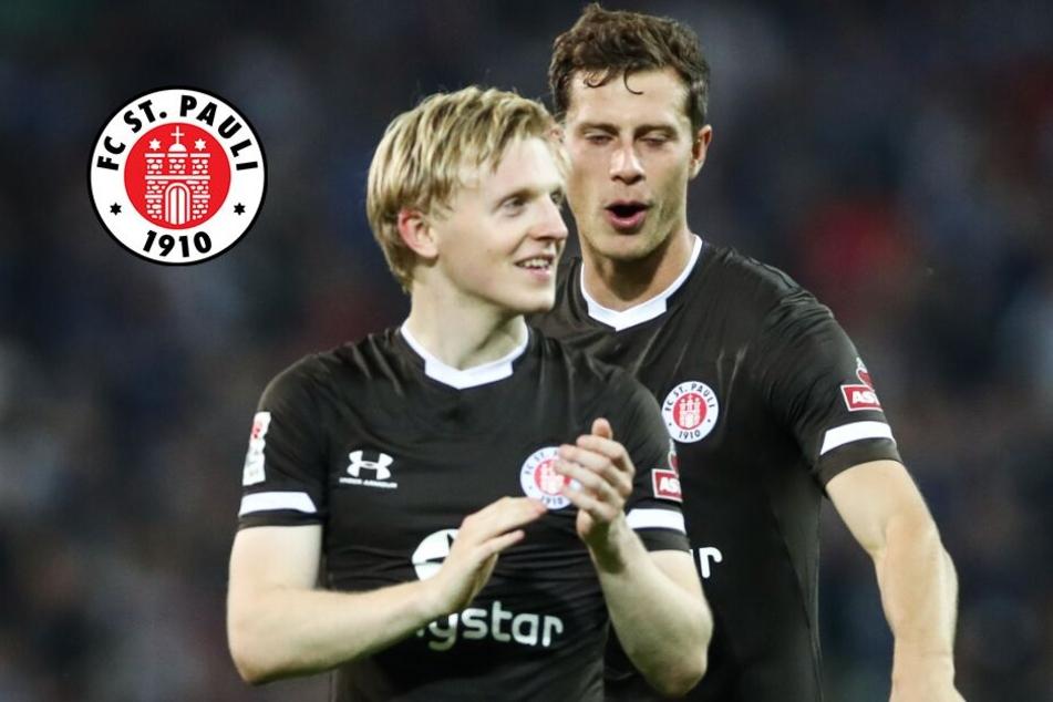 Verletzungs-Misere bei St. Pauli: Zwei Leistungsträger fallen aus!