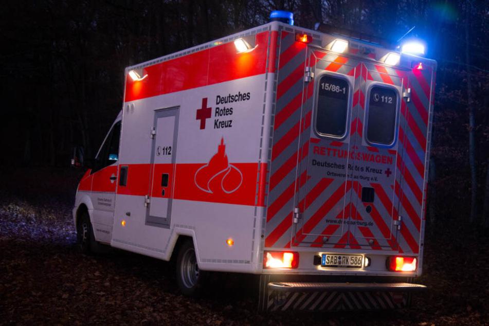 Rettungskräfte waren vor Ort.