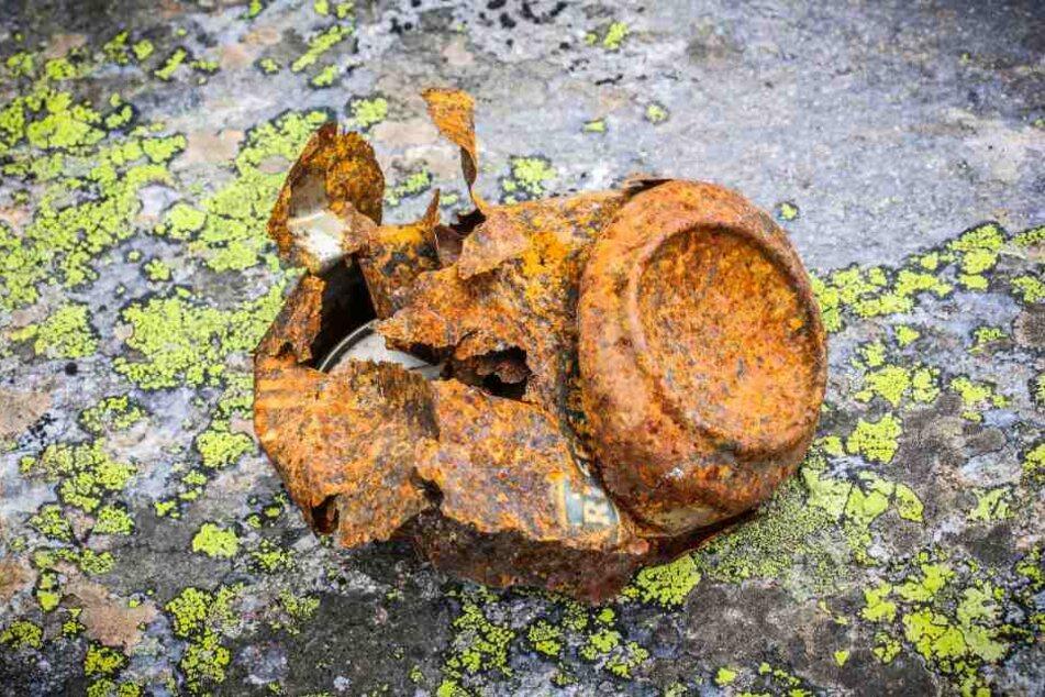 Bis eine Aludose verrottet können 500 Jahre vergehen.