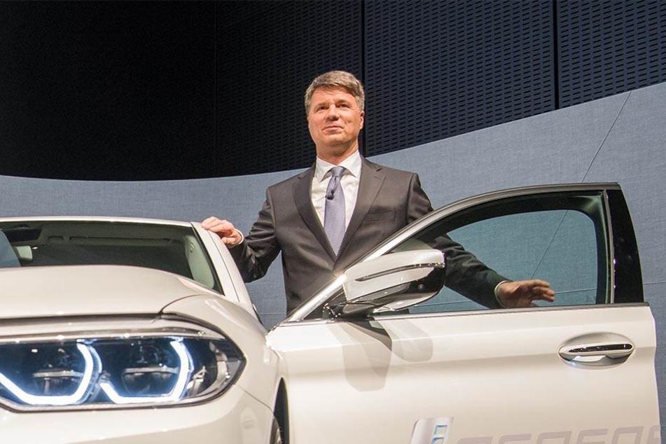 BMW-Chef Harald Krüger will künftig mit Elektroautos höhere Gewinne erzielen.