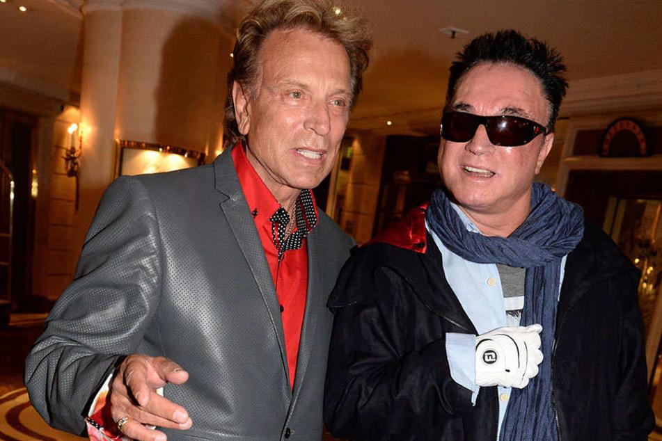 Magische Stars: Siegfried (77, l.) und Roy (72) - als 2003 ein Tiger Roy während der Show verletzte, beendeten sie ihre Zauberkarriere.