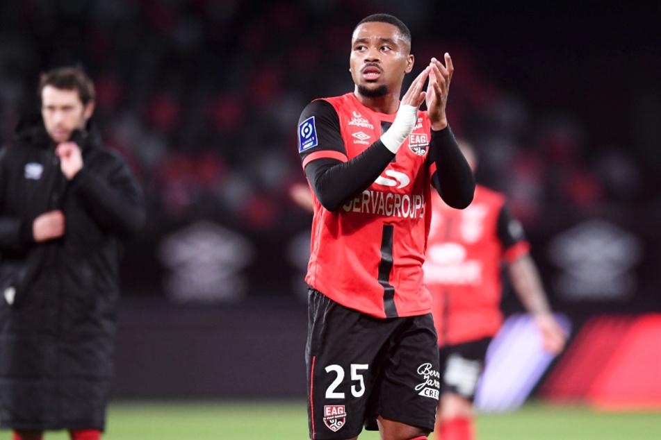 Matthias Phaeton (21) spielt aktuell für den französischen Zweitligisten EA Guingamp.