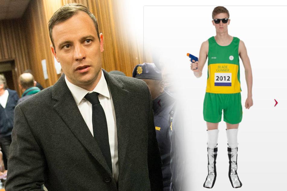 Oscar Pistorius sitzt derzeit im Knast. Jetzt gibt es sogar ein Kostüm von ihm.