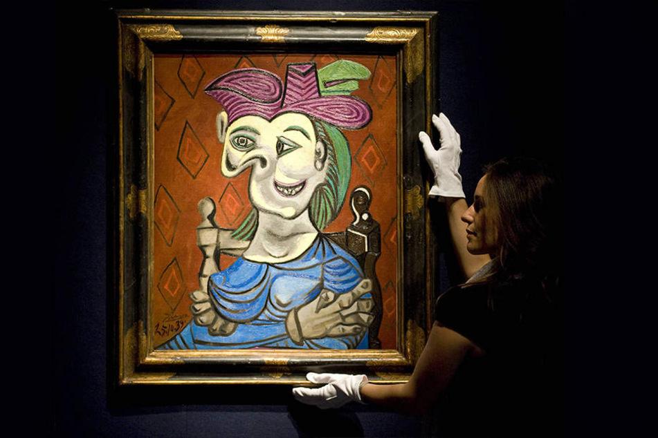 In New York wurde dieses Gemälde von Pablo Picasso jetzt für über 40 Millionen Dollar verkauft.