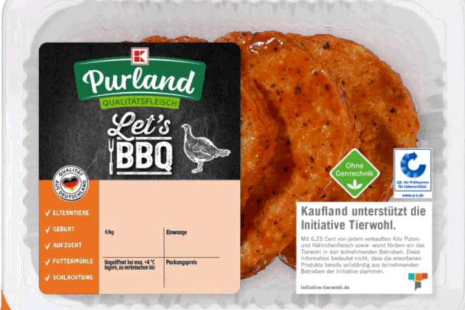 Lebensmittel: Heidemark ruft Puten-Hacksteaks zurück