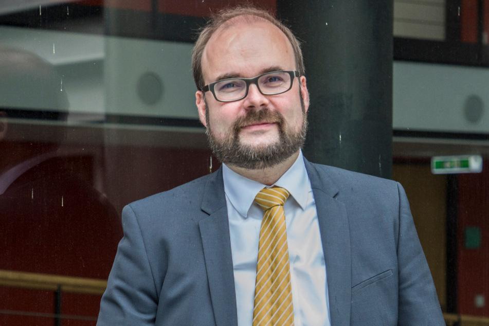 Schulminister Christian Piwarz (45, CDU) hofft auf rege Beteiligung am Schnelltesten.