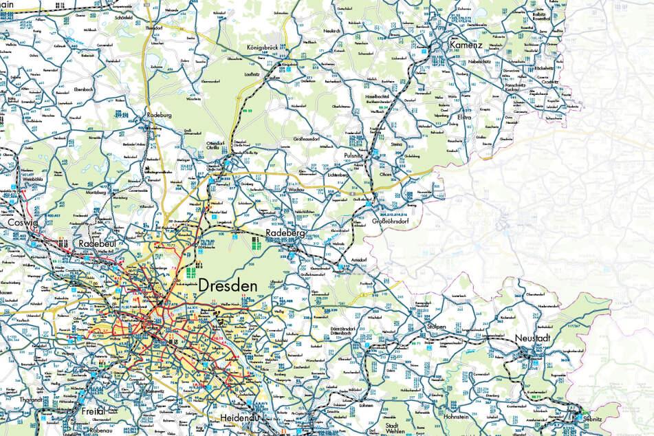 Aus der Regionalbahn-Linie zwischen Dresden und Kamenz wird die S8.