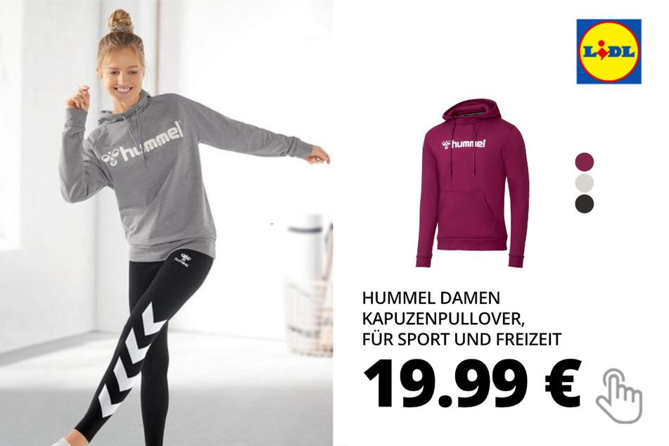 Hummel Damen Kapuzenpullover, für Sport und Freizeit