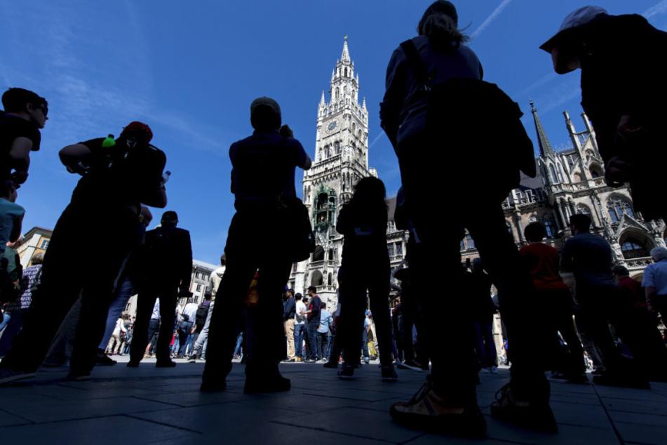 Der Tourismus in München ist coronabedingt im ersten Halbjahr eingebrochen. (Archivbild)