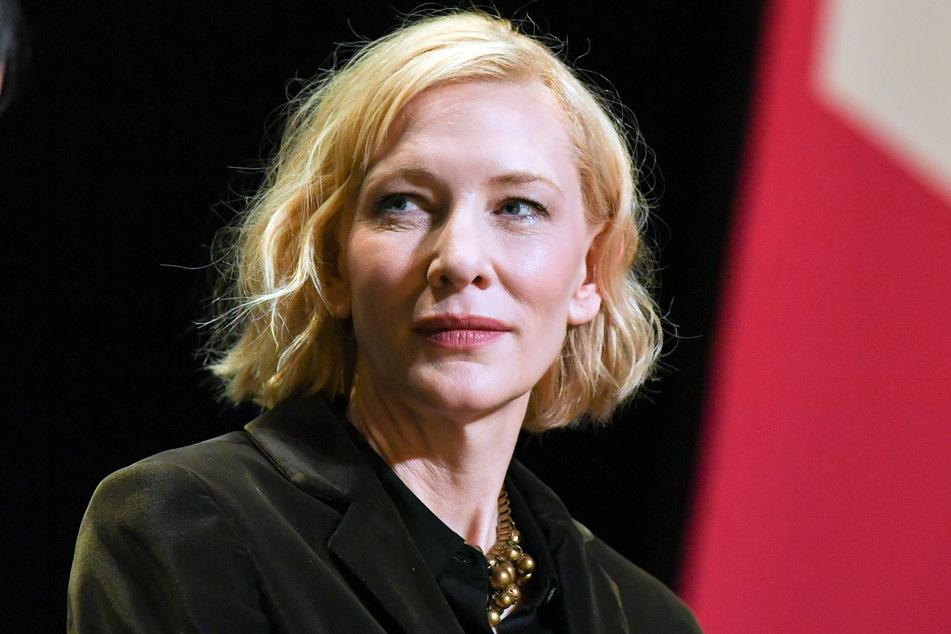 Hollywood-Star Cate Blanchett (52) steht derzeit in Dresden vor der Kamera.