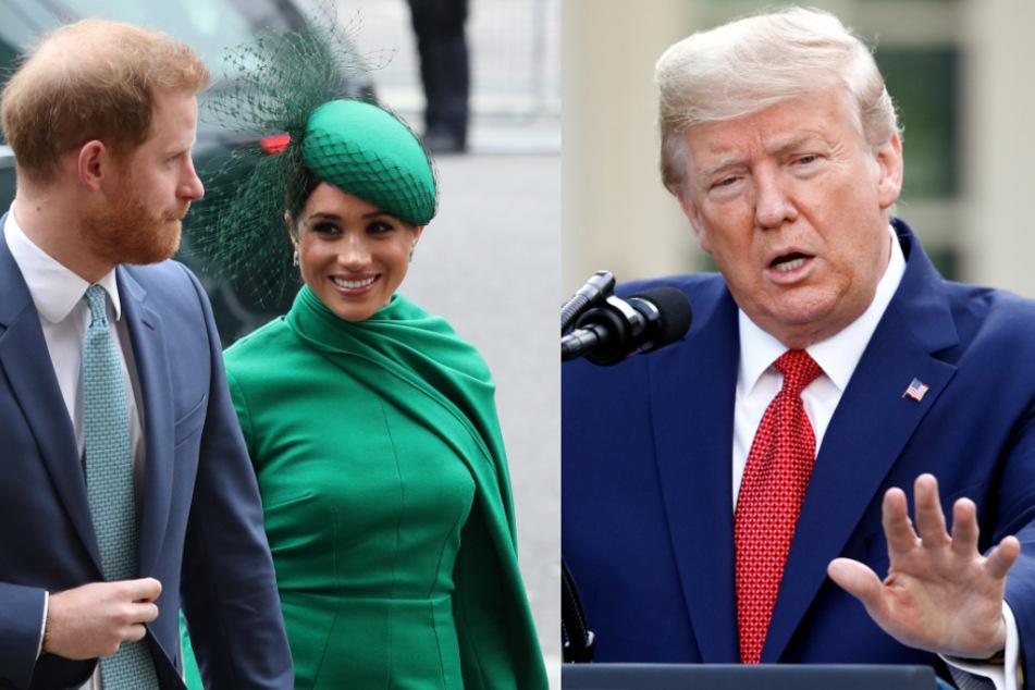Sind Meghan und Harry nirgendwo willkommen? Donald Trump macht krasse Ansage