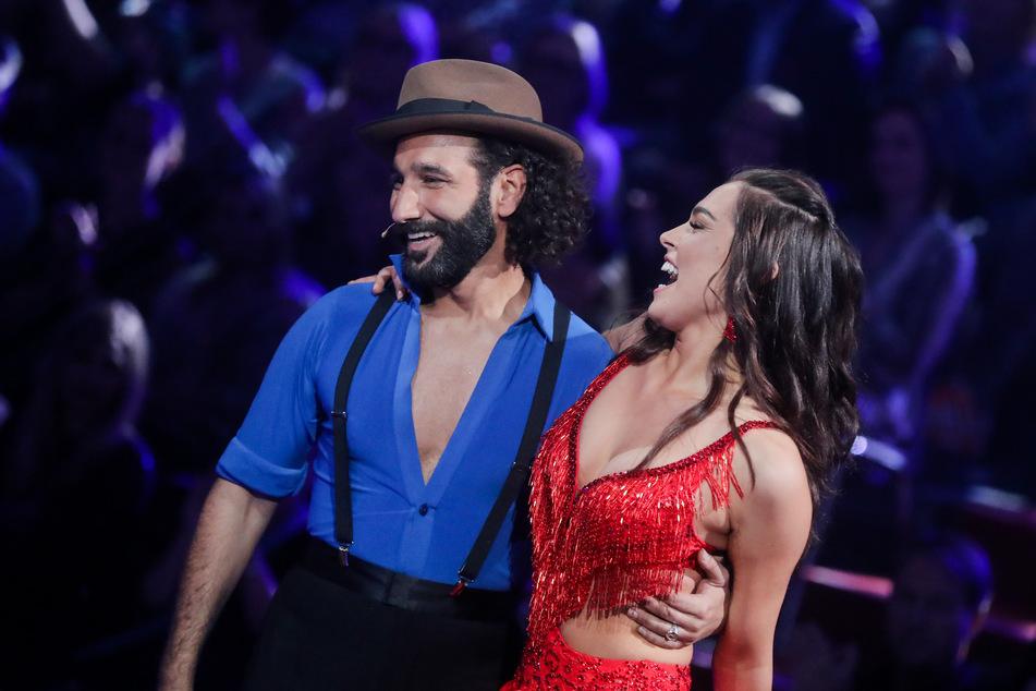 """Gemeinsam mit ihrem Tanzpartner Massimo Sinató (40) sicherte sich Lili Paul-Roncalli (22) im vergangenen Jahr bei """"Let's Dance"""" den Titel. (Archivfoto)"""