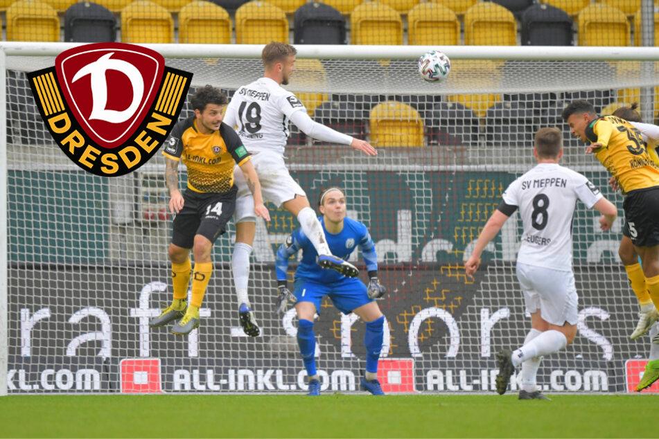 Dynamo knackt den Meppener Abwehrriegel und fährt vierten Saisonsieg ein