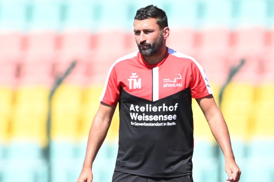 Trainer Torsten Mattuschka von Altglienicke.