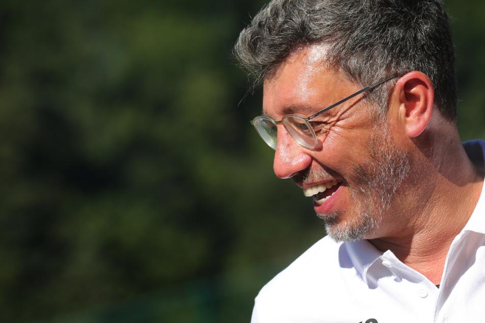 Präsident des VfB Stuttgart: Claus Vogt (51).