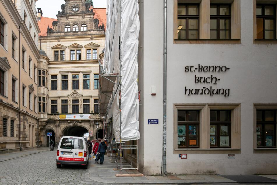 Die Buchhandlung in der Schloßstraße wird es bald nicht mehr geben.