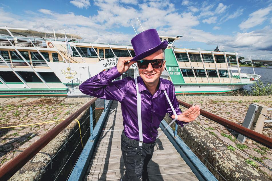 """DJ DC#Mark (bürgerlich Markus Hennig, 38) freut sich schon auf das TAG24-Partyboot mit dem """"Disko Total""""-Rave am Sonntag."""