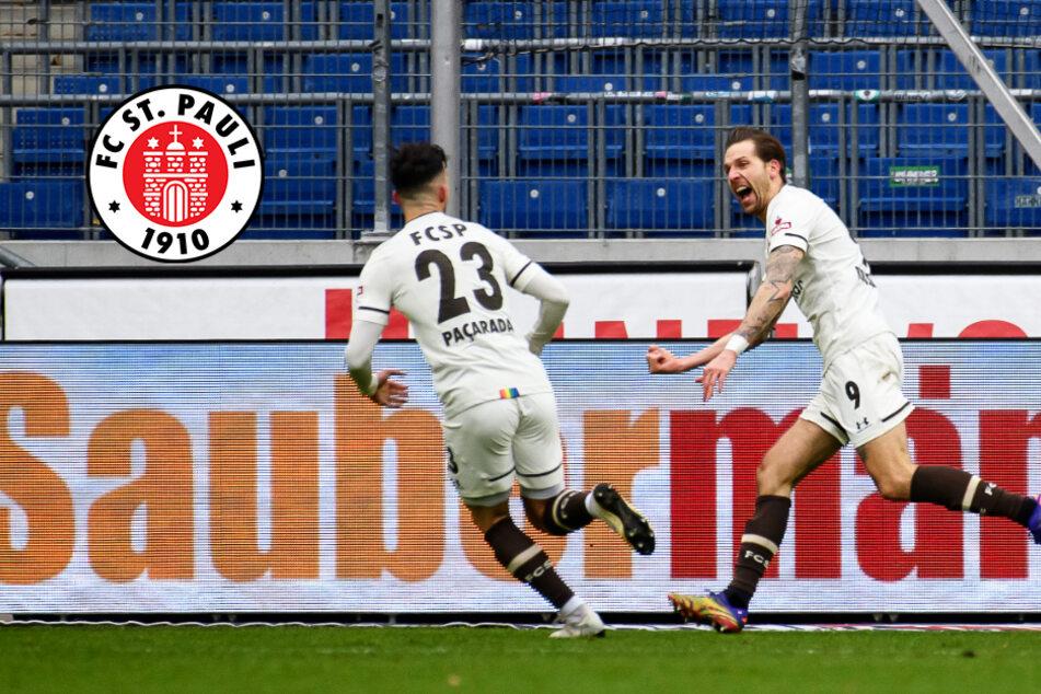 Wahnsinn! FC St. Pauli feiert Last-Minute-Sieg gegen Hannover 96!