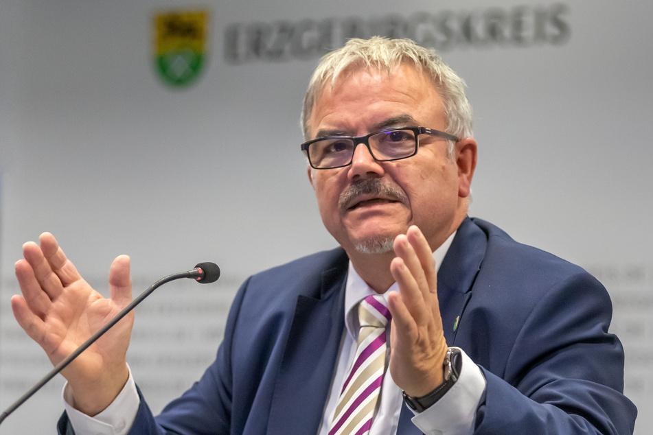 Landrat Frank Vogel (63, CDU) fordert schärfere Grenzkontrollen.