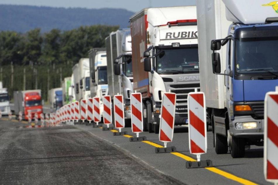 Achtung, Autofahrer! Neue Baustelle auf der A4