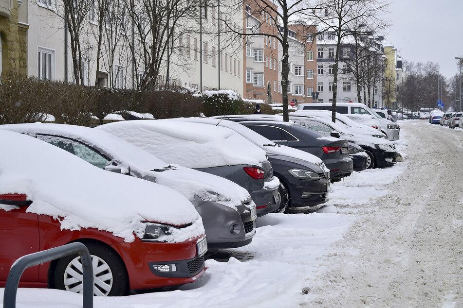 Auf dem Kaßberg leben viele Familien, die mitunter zwei Autos besitzen.