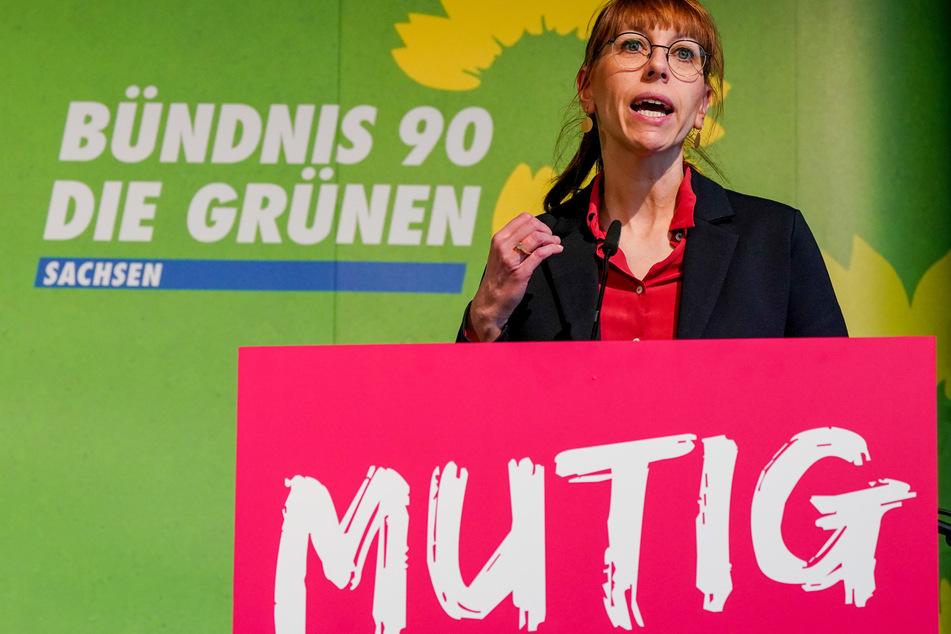Katja Meier (41, Grüne) ist nicht nur die sächsische Justizministerin, sondern auch die Staatsministerin für Gleichstellung.