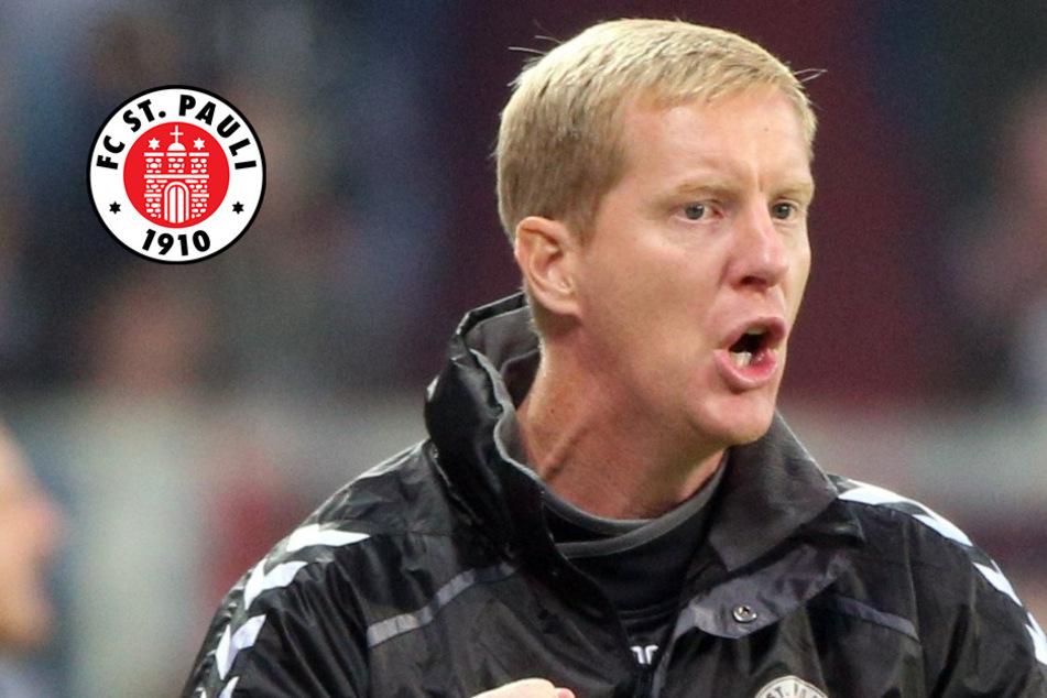 St.-Pauli-Trainer Schultz träumt von Pokalspiel vor Heim-Publikum